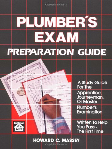 Plumber's Exam Preparation Guide - Craftsman Book Co - RC-CR405 - ISBN: 0934041040 - ISBN-13: 9780934041041