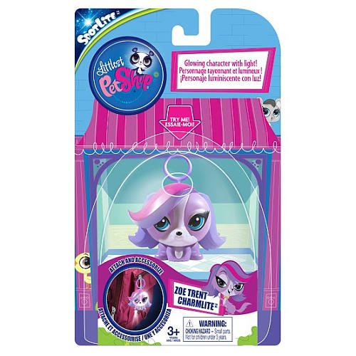 Charm Lite Littlest Pet Shop Zoe - 1