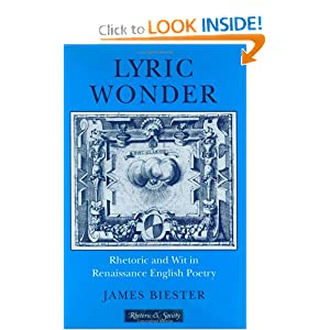 Amazon.com: Lyric Wonder: Rhetoric and Wit in Renaissance English ...
