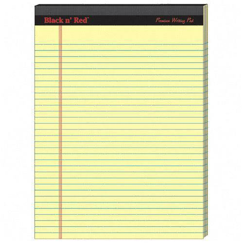Amazon.com : Black n' Red Premium Writing Pad : Office Presentation ...