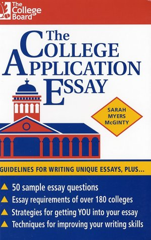 College Application Essay, Sarah Myers McGinty