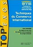 echange, troc  - BTS techniques du commerce international