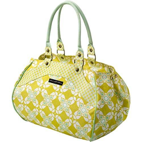 Petunia Pickle Bottom Spring 14' Wistful Weekender (Citron Blooms- Organic Cotton) front-838733