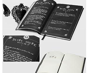 高品質コスプレ道具 デスノート DEATH NOTE 用ノートブック+羽筆 コスプレ
