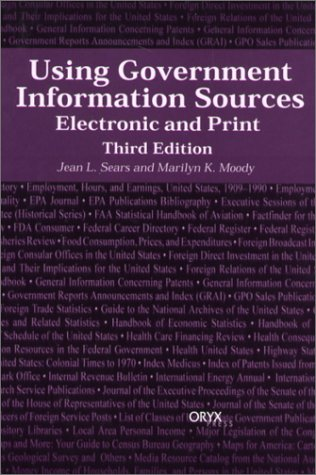 Using Government Information Sources: Electronic and...