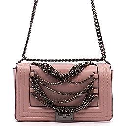 MyLux® Designer Fashion Women Jelly OR PU Leather Clutch Handbag h14062 (80413LPK)
