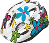 ABUS Kinder Fahrradhelm Chilly, funny flower, 45-50 cm, 55370-7
