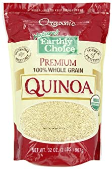 buy Nature'S Earthly Choice Premium Organic 100% Whole Grain Quinoa, 2 Pound (Pack Of 6)