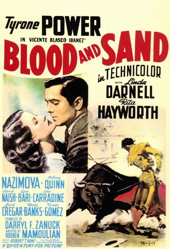 Blood and Sand - Movie Poster - 11 x 17