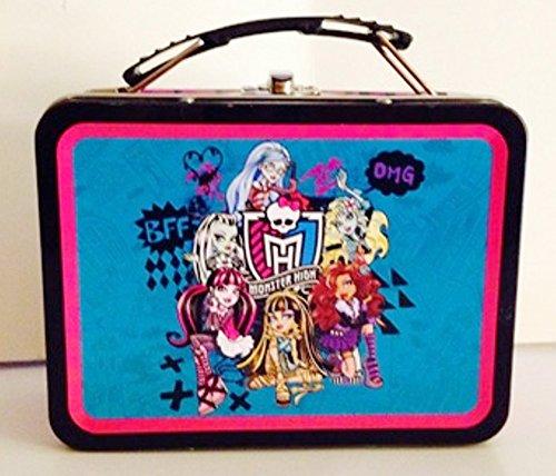 """Monster High Tin Box ~ Small ~ 6"""" x 4"""" x 3"""""""