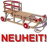 Orig. Roll Rodel - der Schlitten mit Rädern zum Einsatz