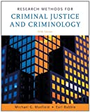 Research Methods for Criminal Justice and Criminology (0495094765) by Maxfield, Michael G.