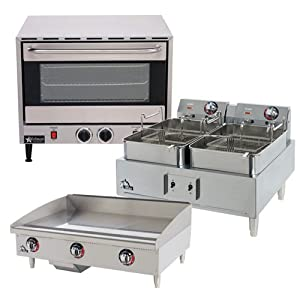"""Toastmaster TMHPF Hot Plate, counter top, electric, (2) 9"""" Open Burners, New"""