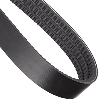 "Goodyear Engineered Products HY-T Torque Team V-Belt, BX Profile, Banded & Cogged, 3 Rib, 1.98"" Width"