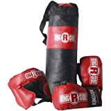 Ringside Youth Boxing Set, Black/Red