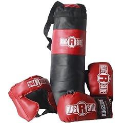 Buy Ringside Youth Boxing Set, Black Red by Ringside