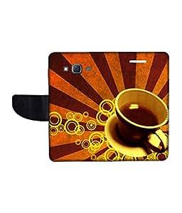 KolorEdge Printed Flip Cover For Samsung Galaxy J7 Multicolor - (1479-55KeMLogo11523SamJ7)