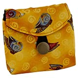 Gold Laurel Burch Birds Tea Wallet