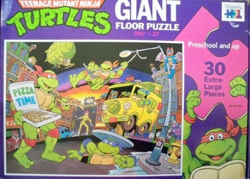 Picture of Warren Teenage Mutant Ninja Turtles 30 Piece Giant Floor Puzzle (B002F8Z8HU) (Jigsaw Puzzles)