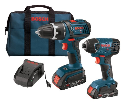 Review Of Bosch CLPK232-181 18-Volt Lithium-Ion 2-Tool Combo Kit with 1/2-Inch Compact Tough Drill/D...