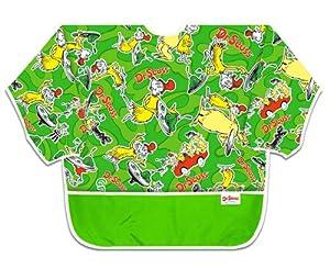 Bumkins Waterproof Art Smock - Dr. Seuss Green Eggs