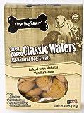 Three Dog Bakery Classic Wafers Vanilla, Baked Dog Treats, 16-Ounce