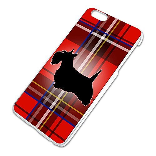 Scottie Dog on Red Plaid Scottish Terrier Slim Fit Hard Case Fits Apple iPhone 6 Plus by durantsale