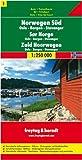 Berndt  Freytag Autokarten, Blatt 1: Norwegen Süd - Oslo - Bergen - Stavanger - Maßstab 1:250 000 title=