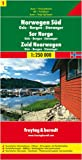 echange, troc Cartes Freytag - Road Map (en anglais) : Norwegen Süd