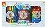 Cuckoo Alex Tub Tunes Symphony Bath Toy Set (Xylophone, Drum and Water Flutes)