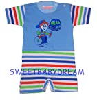 Baby Boys Girls Rompers Suits Summer 0 3 months 100 Cotton