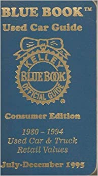kelley blue book consumer reports
