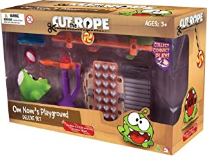 Cut The Rope Deluxe Buildable Playset