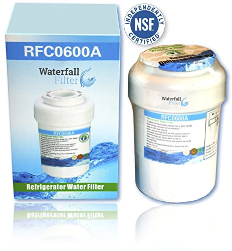 GE MWF SmartWater Compatible Water Filter Cartridge - Refrigerator by Waterfall Filter Company