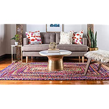 Unique Loom 3142665 Area Rug, 7 x 10 Rectangle, Multicolor