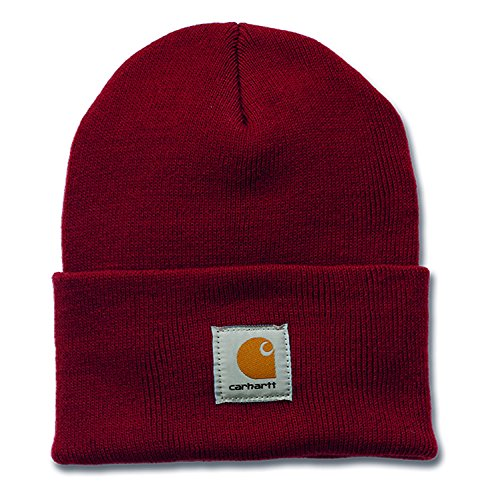 carhartt-mens-beanie-red-red