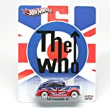 2013 the Who Hot Wheels (Collector's Edition) Fat Fendered '40 (Ford) Metal / Metal Real Riders Toy Car By Mattel