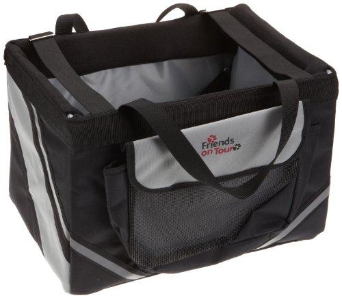 Artikelbild: Trixie 1299 Front-Box Basic, 38 × 25 × 25 cm, schwarz/grau