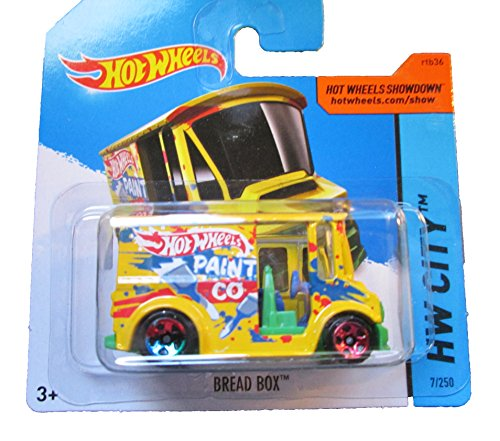 Hot Wheels - 2014 HW City 7/250 - Bread Box on Short Card - 1