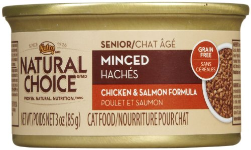 Nutro Natural Choice Senior Minced Chicken & Salmon Formula