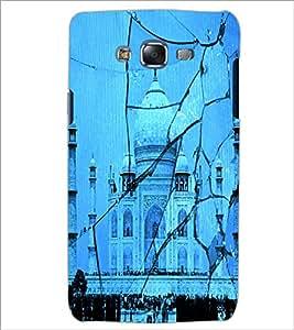 PrintDhaba Taj-Mahel D-2843 Back Case Cover for SAMSUNG GALAXY ON 7 (Multi-Coloured)