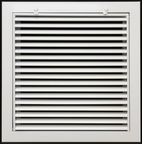 Linear Return Grilles : Quot aluminum return filter grille easy air flow