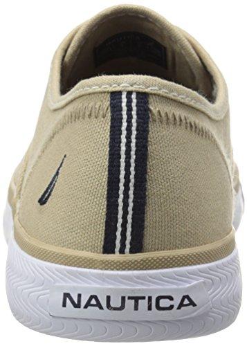Nautica men s deckloom laceless nm343bjd fashion sneaker tan 8 5 m
