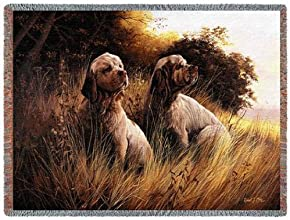 Pure Country 1441-T Clumber Spaniel Pet Blanket Various Blended Colorways 53 by 70-Inch