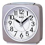 SEIKO CLOCK(セイコークロック) PYXISライト付き目覚まし時計(薄ピンクパール塗装) NR440P NR440P
