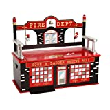 Firefighter Bench Seat w/ Storage