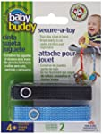Baby Buddy Secure-A-Toy, Navy/Blue, 2...