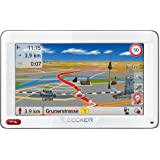 "BECKER Ready 50 ICE Sat Nav, 12.7 cm (5"") Display, Europe Maps (44 Countries), Lifetime Map Updates, SituationScan, Bluetooth, Lane Assist Pro 3D, Black/Glacier-White"