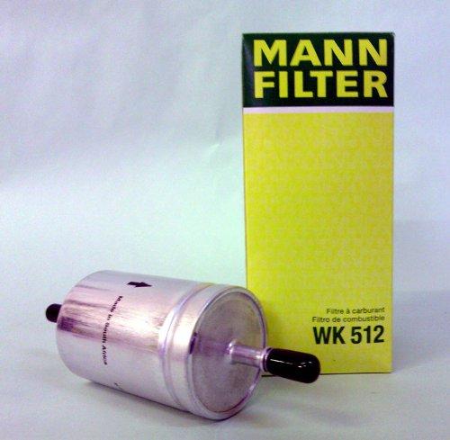 MANN 燃料フィルター (フォルクスワーゲン/ポロ) WK 512 【型式:GH-9NBJX 初年:05/12-08/12】