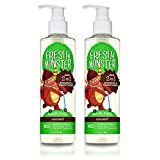 Fresh Monster Toxin-free Hypoallergenic 2-in-1 Kids Shampoo & Conditioner, Coconut, 2 Count
